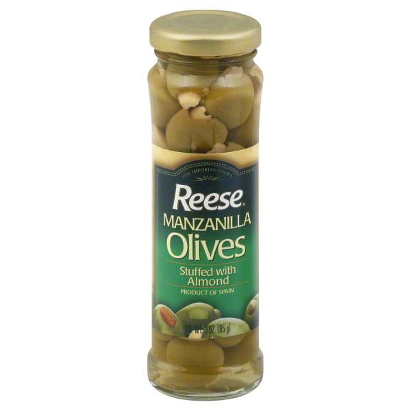 World Finer Foods Reese  Olives, 3 oz