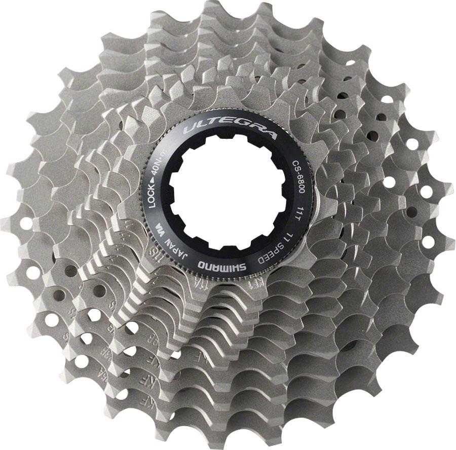 SHIMANO ULTEGRA 6800 11-SPEED NICKEL PLATED 11-25T ROAD BICYCLE CASSETTE