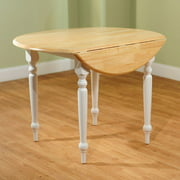 round drop leaf dining table whitenatural. Interior Design Ideas. Home Design Ideas