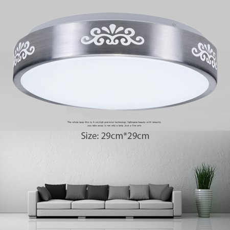Flush Mounted Ceiling Lamp (12W 1000LM Round LED Ceiling Down Light Flush Mount Home Fixture Modern Lamp Home Bedroom Dining Hall Study Living)