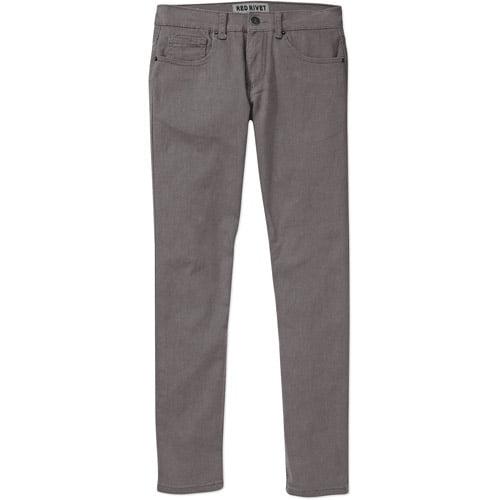 Red Rivet Big Men's 5 Pocket Twill Pant