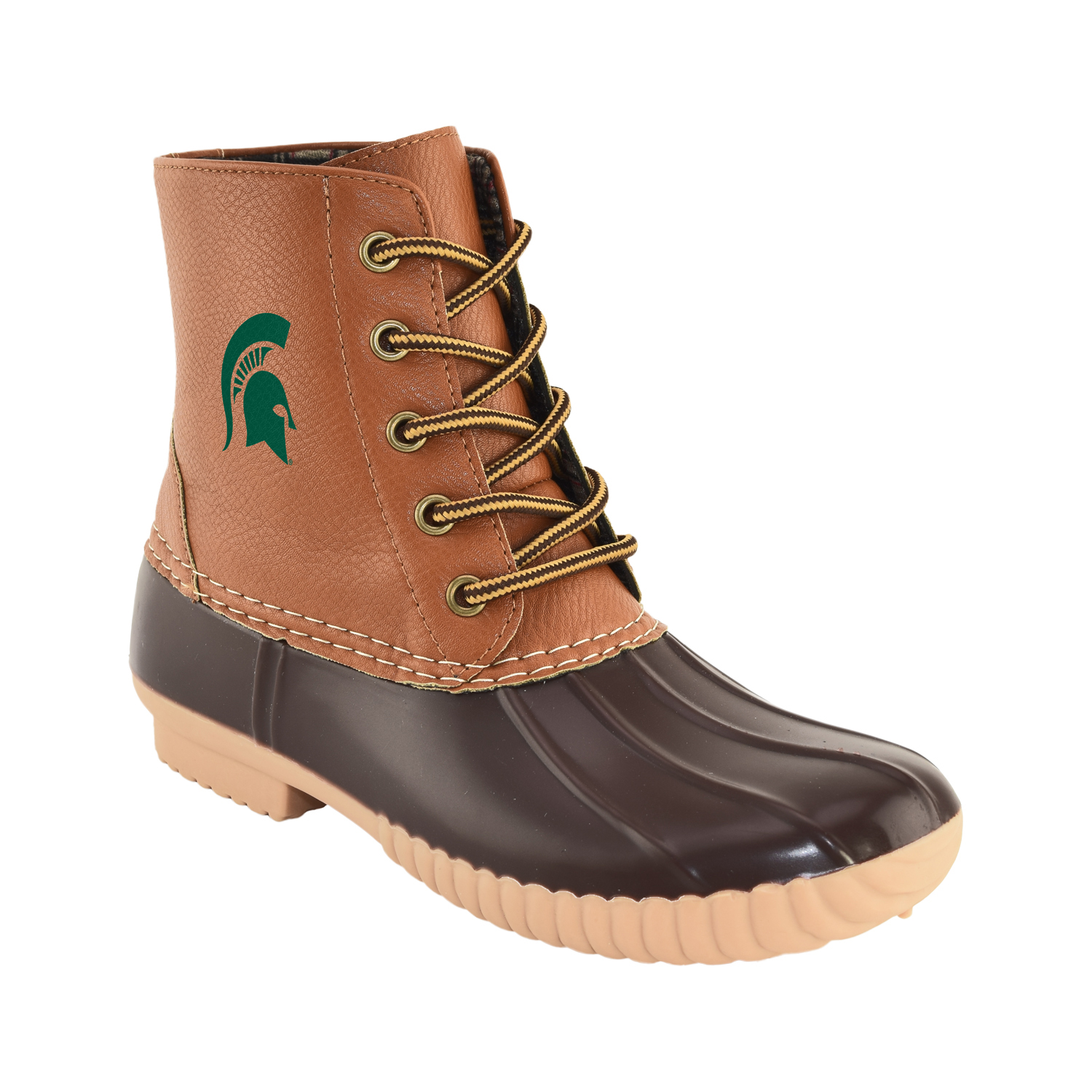 NCAA Women's Michigan State -High Duck Boot by GERNERIC