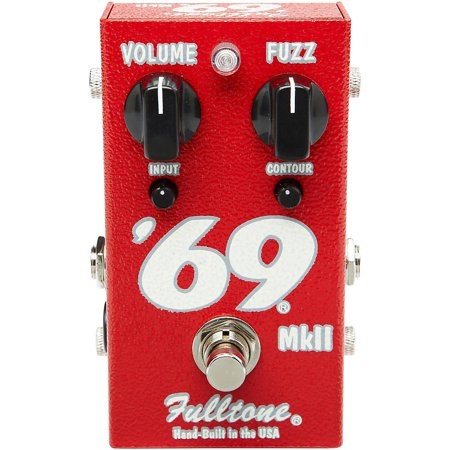 Fulltone '69 MkII Fuzz Guitar Effects (Mkii Fuzz Pedal)