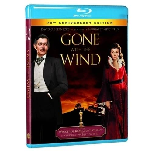 Gone with The Wind (70th Anniversary Edition) (Blu-ray) (Full Frame)