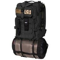 Echo-Sigma Emergency Bug Out Bag Black