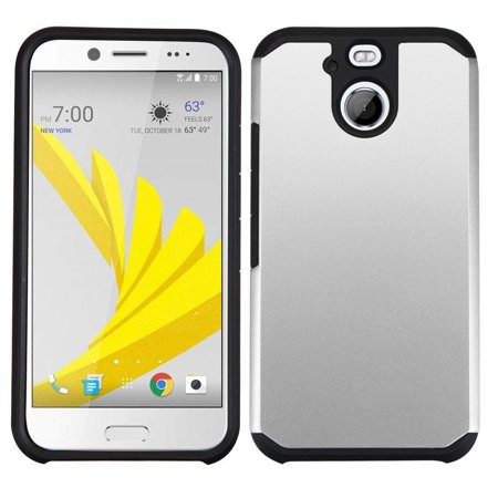 Insten Dual Layer [Shock Absorbing] Hybrid Rubberized Hard Plastic/Soft Silicone Case Cover For HTC 10 EVO / Bolt,