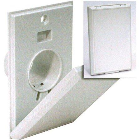 Hayden Canplas 2000ALM(792000A) Inlet Valve-Full Door-Almond