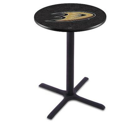 NHL Pub Table by Holland Bar Stool, Black Anaheim Ducks, 36'' L211 by