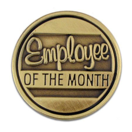 Employee of the Month Corporate Recognition Lapel Pin Corporate Employee Recognition Acrylic