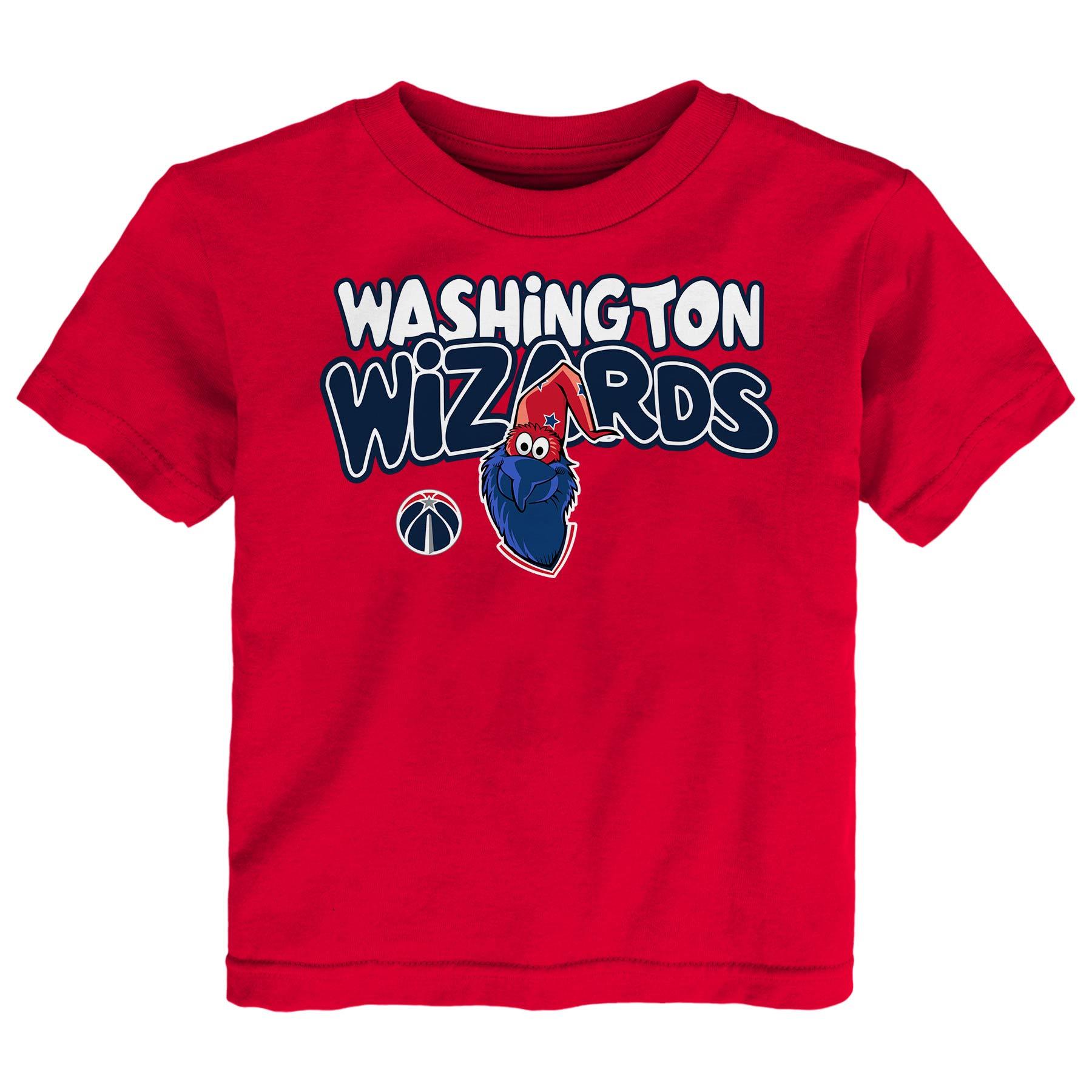 Washington Wizards Preschool & Toddler Bubble Letter T-Shirt - Red