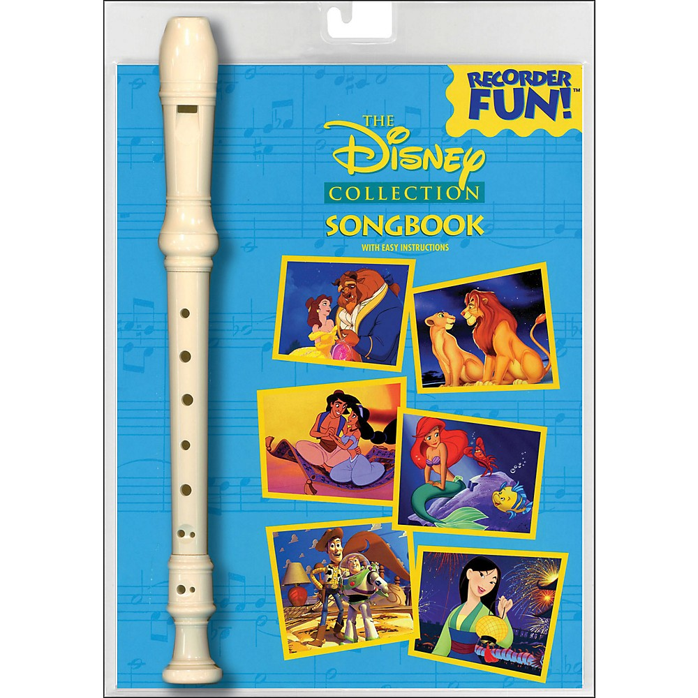 Hal Leonard Disney Collection Recorder Fun! Pack