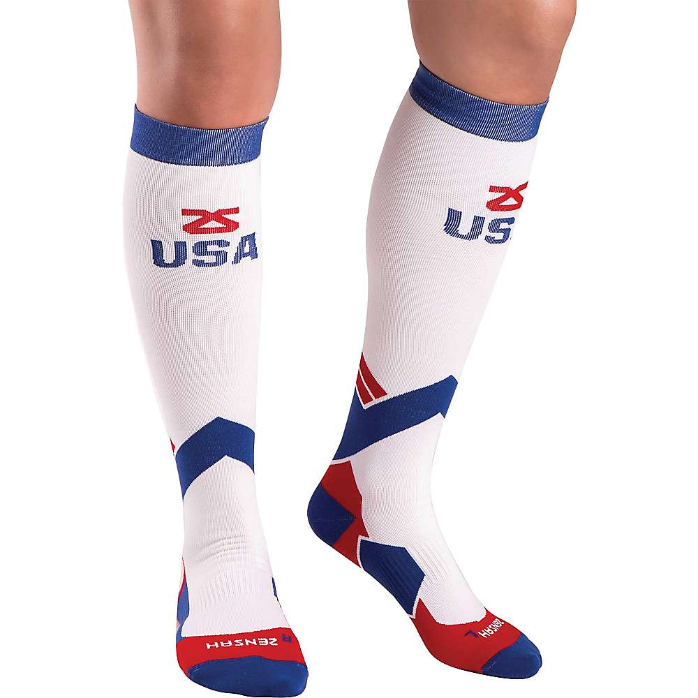 Zensah USA Compression Sock