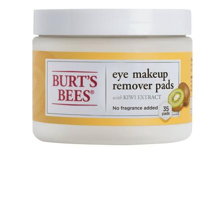 - Burt's Bees Eye Makeup Remover Pads, 35 ct