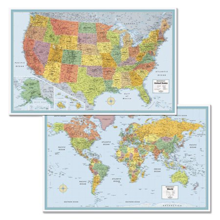 Rand McNally MSeries FullColor US And World Maps Paper X - Rand mcnally online maps