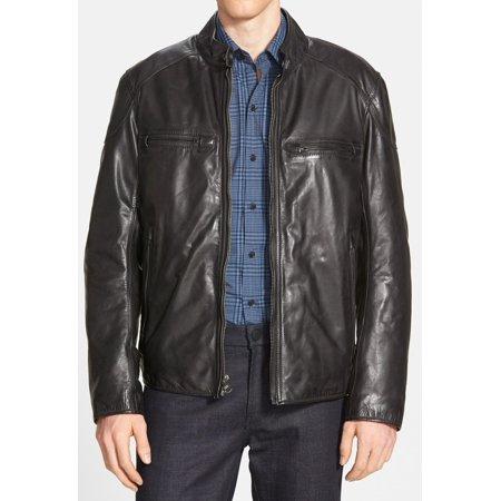 Marc York Mens Jacket Large Lightweight Leather L ()