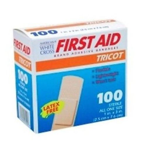 Tricot Adhesive Bandages by Derma Sciences 200-Ct
