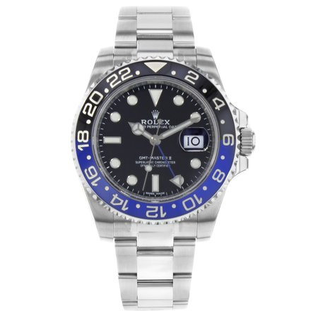 Rolex GMT-Master II 116710BLNR Batman Steel Ceramic Automatic Mens Watch (tw steel mens automatic watches)