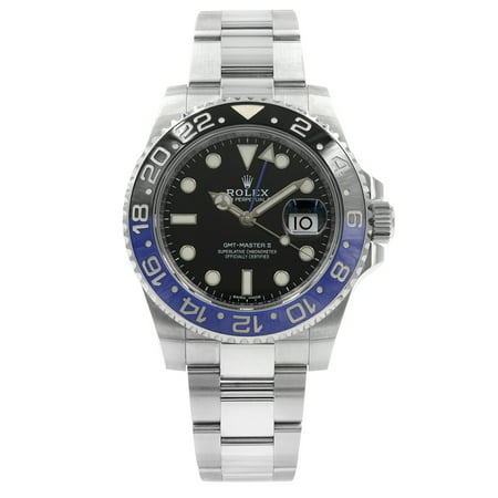 Rolex GMT-Master II 116710BLNR Batman Steel Ceramic Automatic Mens (Automatic Power Reserve Mens Watch)