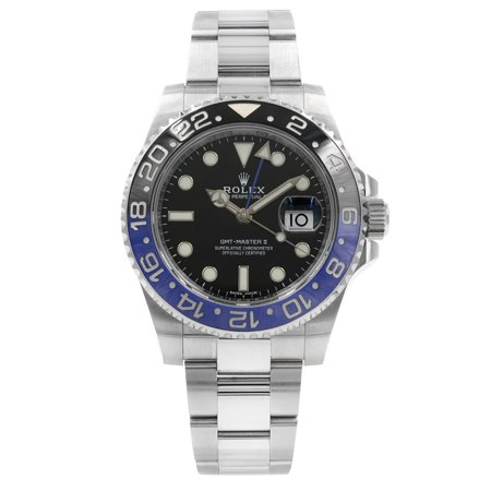 Wind Rolex Watch (Rolex GMT-Master II 116710BLNR Batman Steel Ceramic Automatic Mens)