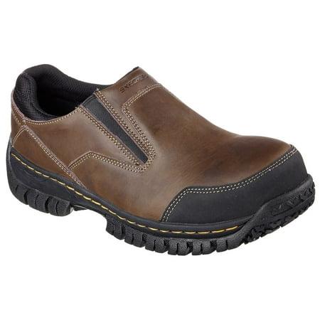 Skechers Work Men's Hartan Double Gore Steel Toe Safety Shoes