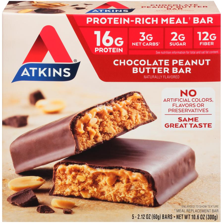 Atkins products at walmart