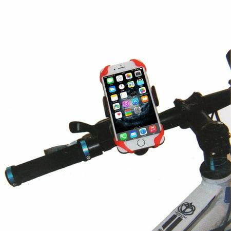 Solid Mount Handlebar (Universal Adjustable CELL PHONE HOLDER Motorcycle Bike Bicycle Handlebar Mount 2)