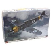 HAS08230 1:32 Hasegawa Bf 109G-2 Finnish Air Force MODEL KIT Multi-Colored