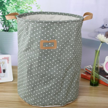 HC-TOP Waterproof Foldable Laundry Bag Dirty Clothes Basket Linen Bin Storage Folded - image 3 of 6