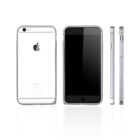 dodocool Ultrathin Lightweight Metal Aluminum Bumper Frame Shell Case Protective Cover for 6