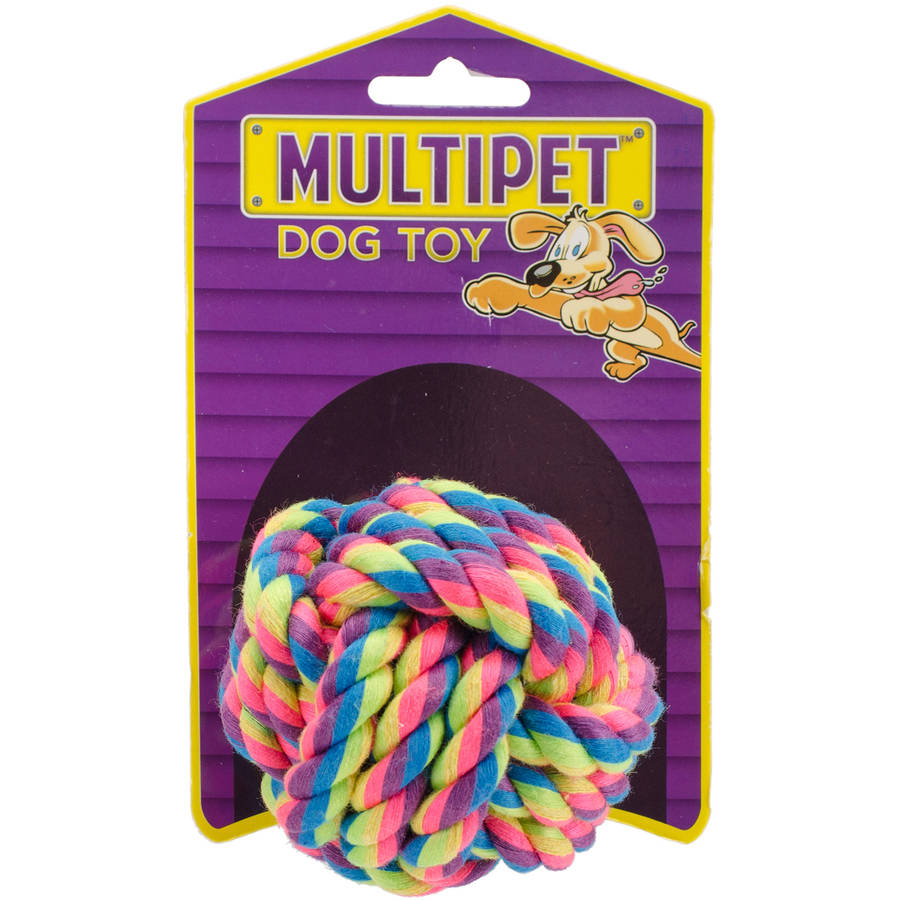 Multipet Nuts For Knots Dog Toy, 2.5""
