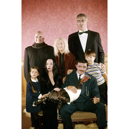 The Addams Family (1964) John Astin Lurch and Cast Tv Cult 24x36 Poster