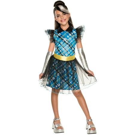 Monster High Frankie Stein Costume for Kids - Frankie Costumes