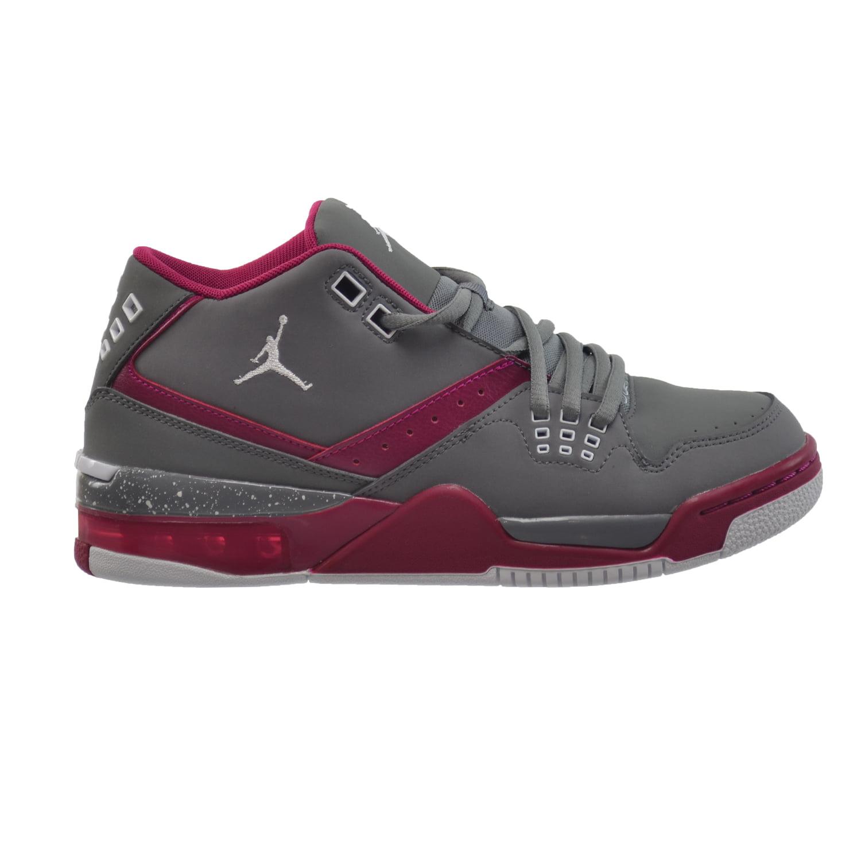 Nike Flight 23 GG Big Kids' Shoes Cool Grey/White-Sport F...