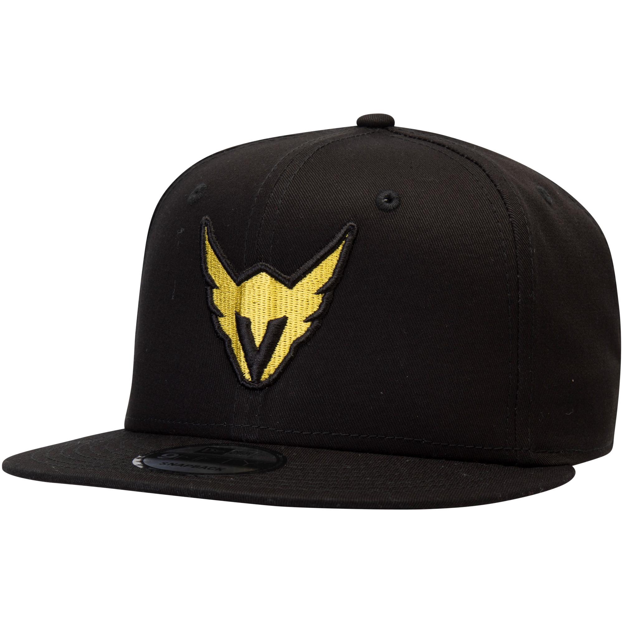 Los Angeles Valiant Overwatch League New Era Solid Team Adjustable Snapback Hat - Black - OSFA