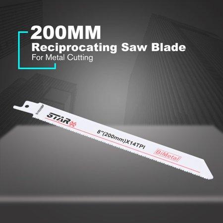 200MM Reciprocating Curve Saw Blade Jig saw Blade Metal Hacksaw For Metal - image 9 de 10