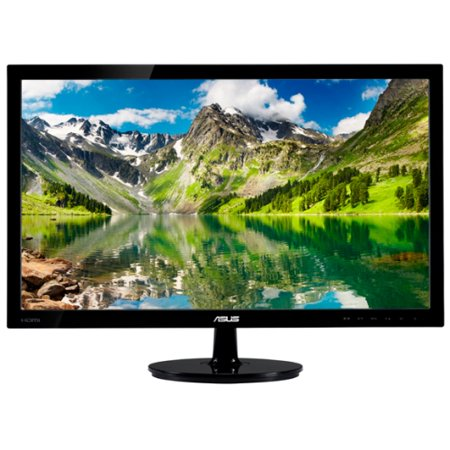 Asus Vs248h P 24   Led Lcd Monitor   16 9   2 Ms   Adjustable Display Angle   1920 X 1080   16 7 Million Colors   250 Nit   50 000 000 1   Full Hd   Dvi   Hdmi   Vga   32 W   Glossy Black   Energy Star