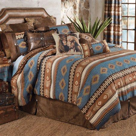 Desert Arrow Southwestern Bed Set Full Queen Western Bedding Decor
