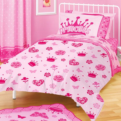 "American Kids Princess 63"" x 90"" Plush Blanket"