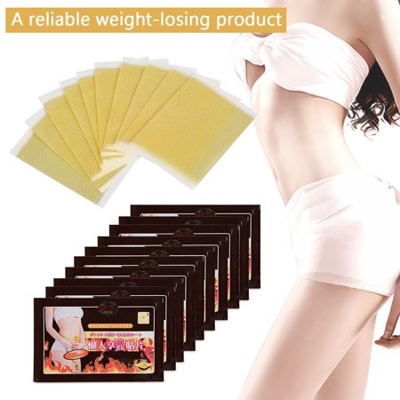 10Pcs/Bag Slimming Patches Navel Stick Weight Losing Fat Burning Patch Pad Adhesive Sheet, Slimming Stick, Navel Patches (Thomas Jefferson Patch)