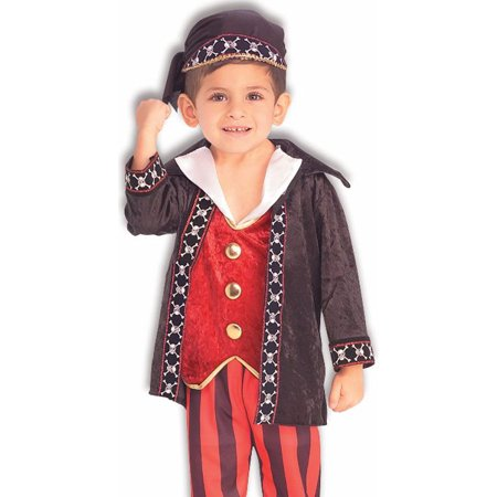 Forum Kids Pirate Buccaneer Outfit Boys Halloween - Simple Pirate Outfit