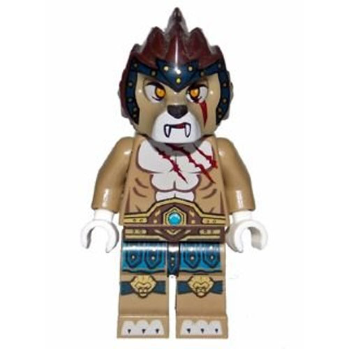 LEGO Minifigure - Legends of Chima - LONGTOOTH