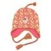 Nickelodeon Dora the Explorer Tassel Braided Beanie Hat Cap Lid Youth/Kid Size