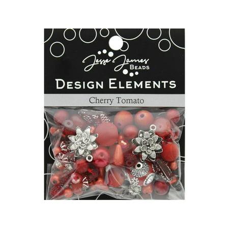 Jesse James Beads Design Elements Cherry Tomato