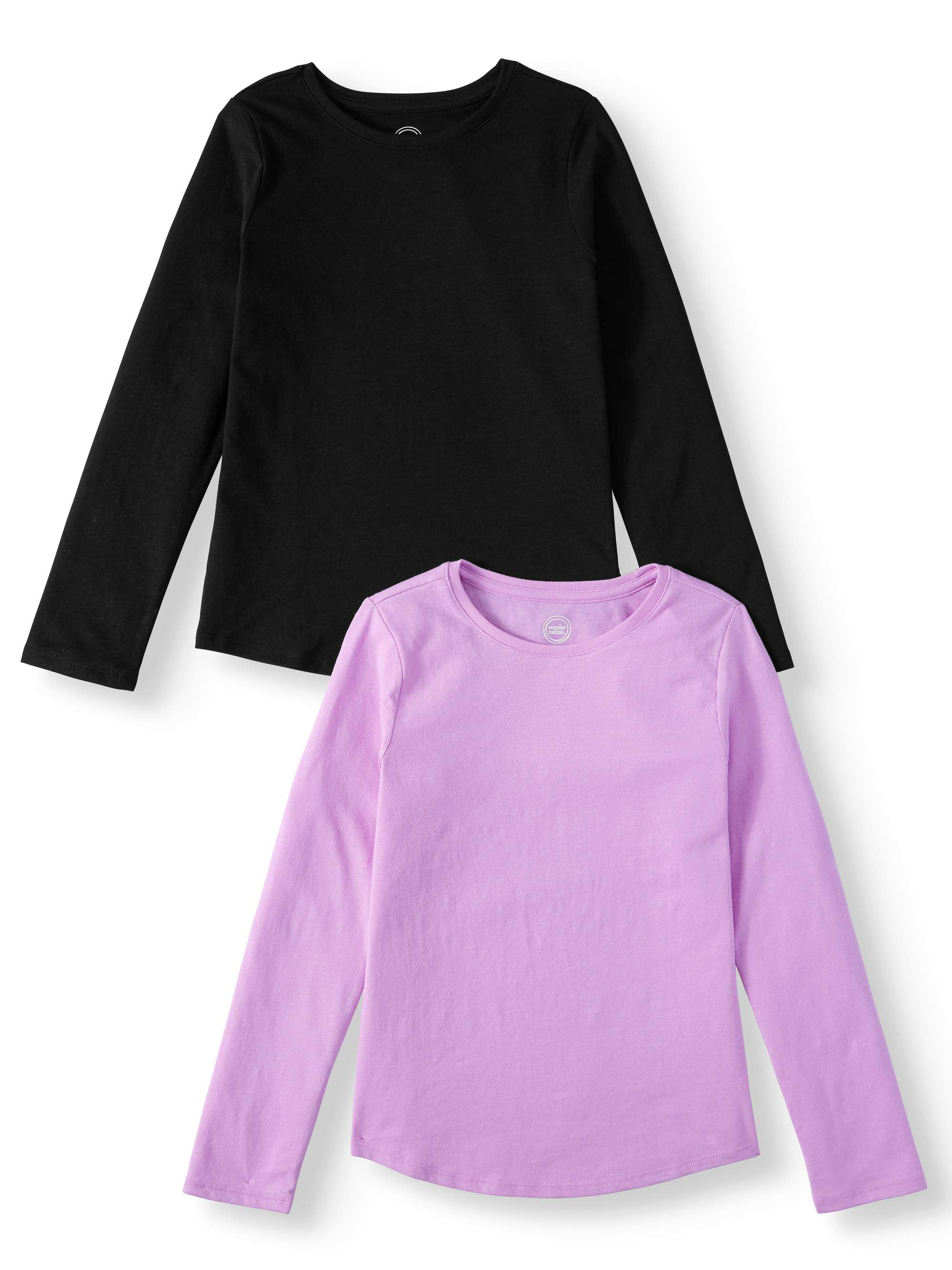 Essentials 2-Pack Long-Sleeve Active Tee Fille