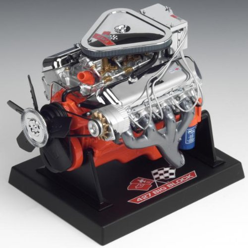 Liberty Classics Chevy L89 Tri-Power Engine Replica, 1/6th Scale Die Cast