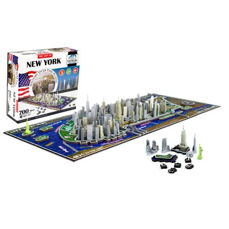 4-D New York City Skyline Time Puzzle