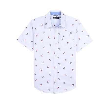 Boy's Jasper Graphic Collared Shirt