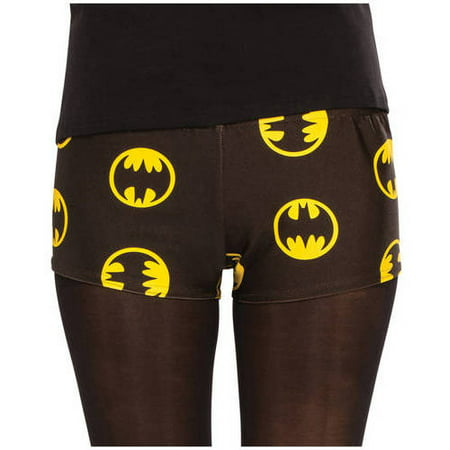 Batgirl Adult Shorts Halloween Accessory - Adult Batgirl
