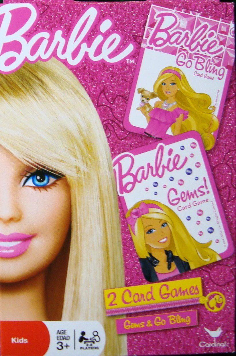Barbie 2 Card Games Barbie Gems Barbie Go Bling Barbie Go
