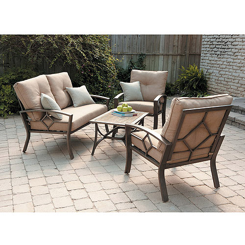 Kennedy 4-Piece Casual Conversation Set